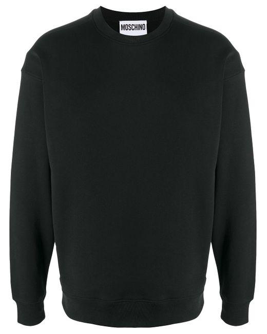 Толстовка С Логотипом Moschino для него, цвет: Black