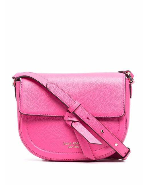Kate Spade ロゴ ハンドバッグ Pink