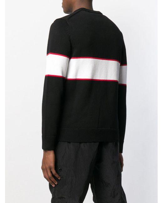 d073d2b4dcc0 Givenchy Upside Down Logo Band Cotton Jumper in Black for Men - Save ...