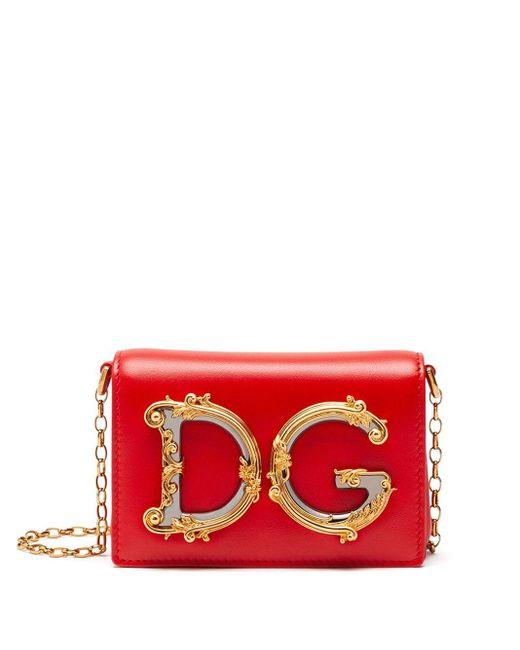 Dolce & Gabbana Dg ベルトバッグ Red
