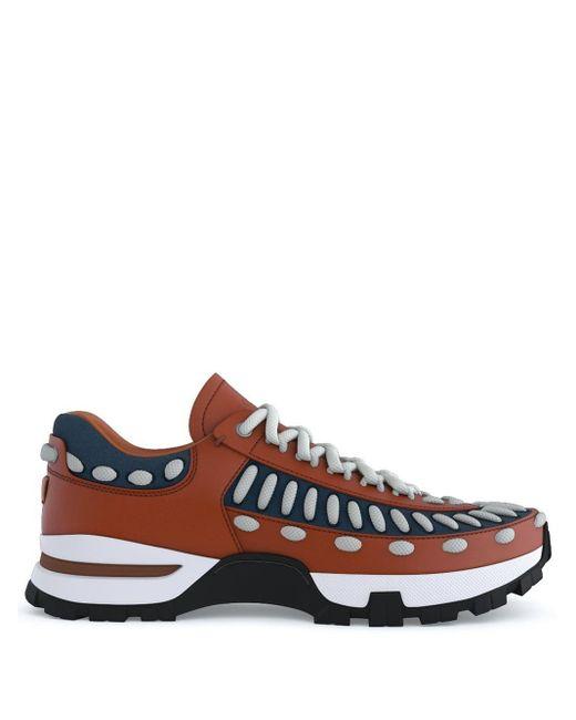 Sneakers My Claudio di Ermenegildo Zegna in Brown da Uomo