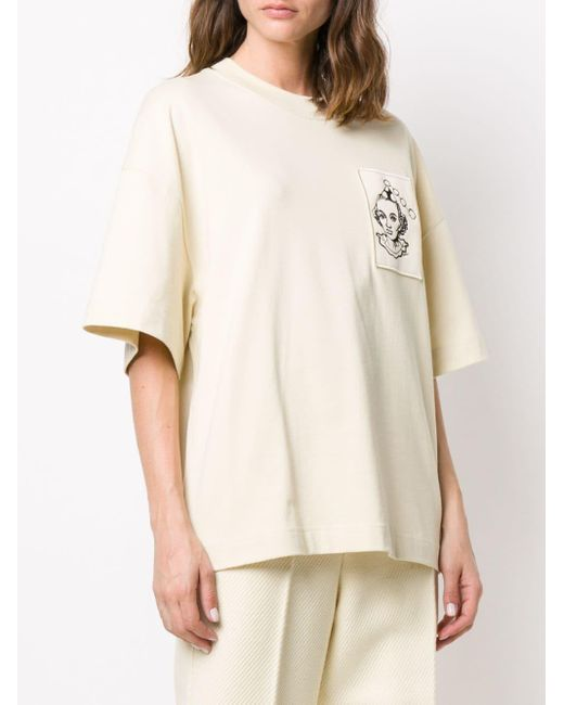 AMI オーバーサイズ Tシャツ Natural