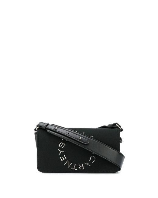 Сумка Через Плечо С Логотипом Stella McCartney, цвет: Black