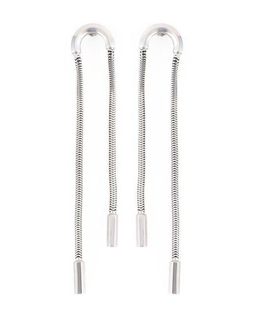 Lara Bohinc - Metallic 'schumacher' Double Earrings - Lyst