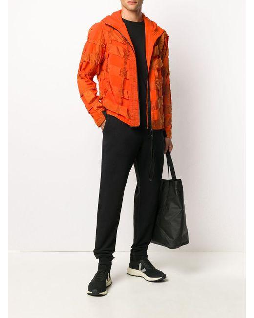 メンズ Raeburn ストラップ ジャケット Orange