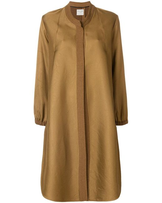 Forte Forte | Brown Flared A-line Coat | Lyst