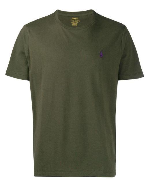 メンズ Polo Ralph Lauren ロゴエンブロイダリー Tシャツ Green