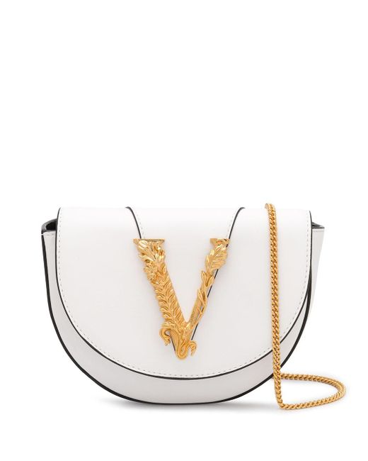 Versace Virtus ショルダーバッグ White