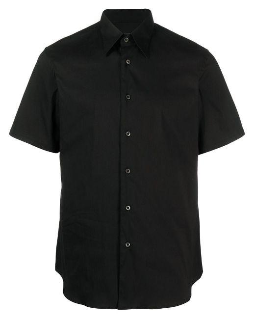 Prada Hemd mit kurzen Ärmeln in Black für Herren