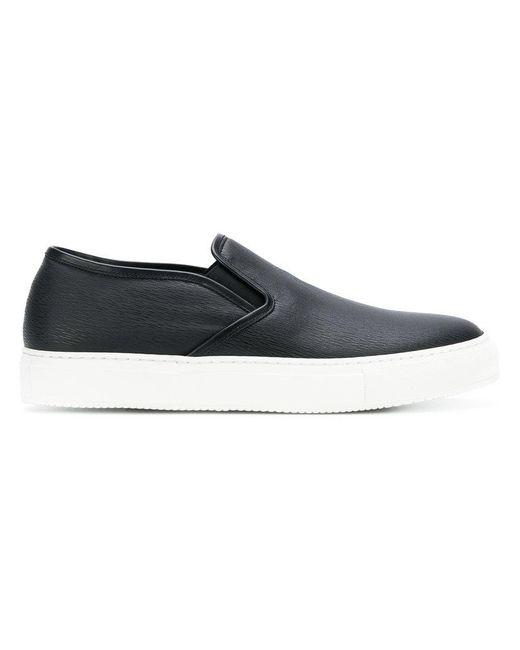 Neil Barrett - Black Slip-on Sneakers for Men - Lyst