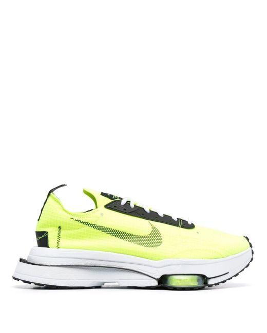 Nike Yellow Sp Air Zoom Low Top Sneakers