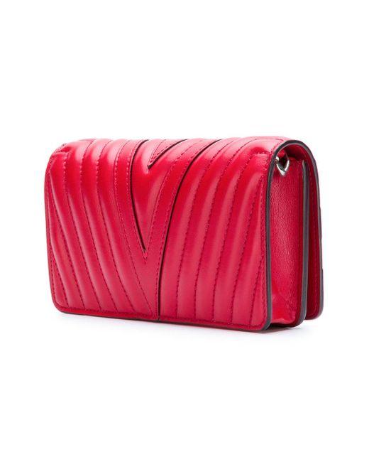 868c2ee115d0 Lyst - Stella McCartney Stella Star Mini Bag in Red - Save 38%