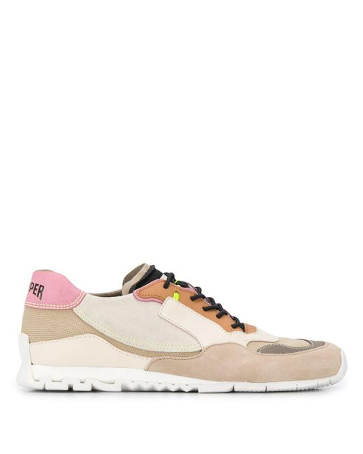 Camper Nothing コントラストパネル スニーカー Multicolor