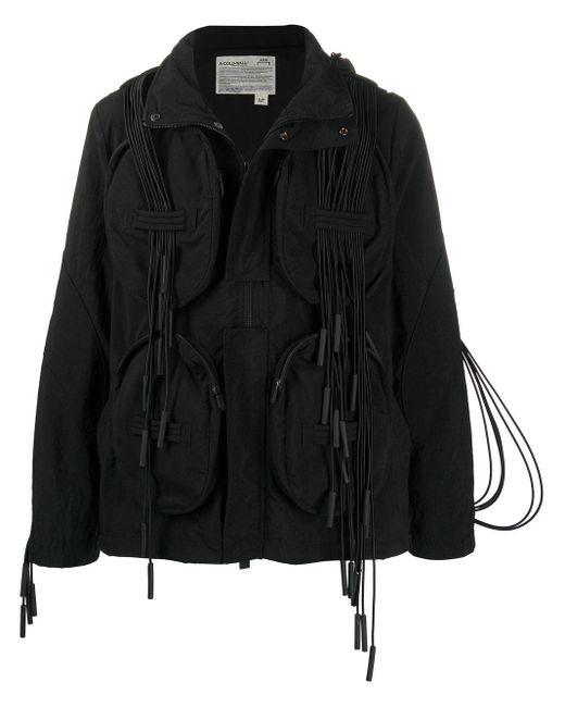 メンズ A_COLD_WALL* フーデッドジャケット Black