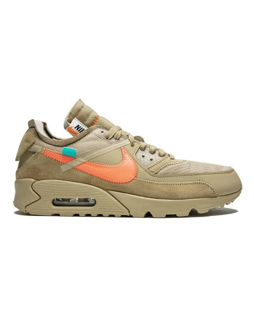 Nike The 10: Off White X Air Max 90 スニーカー Multicolor