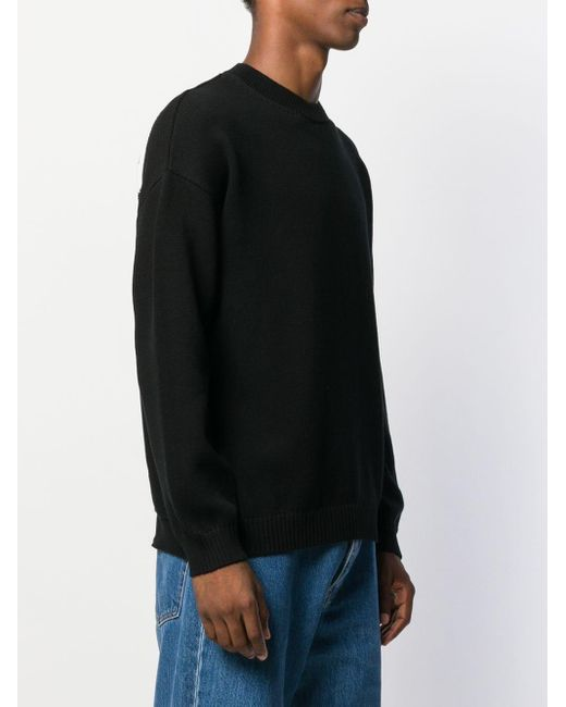 メンズ KENZO ロゴ セーター Black