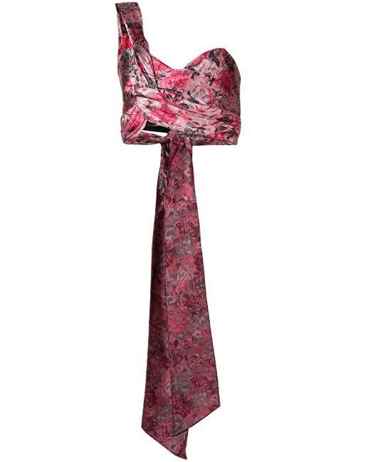 Erdem Halle Jacquard Top Pink