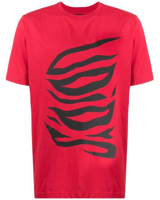 メンズ DIESEL Voids Tシャツ Red