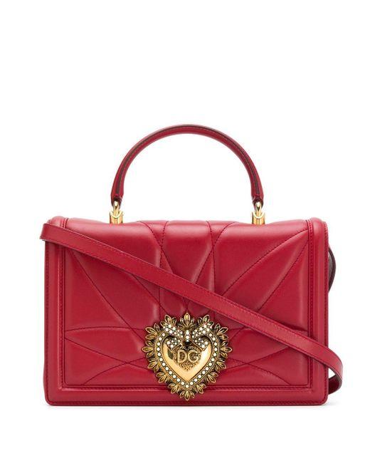 Dolce & Gabbana Devotion ショルダーバッグ Red