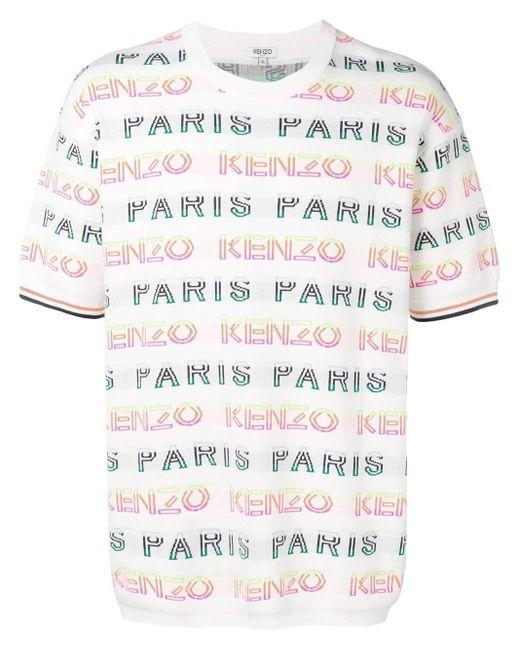 メンズ KENZO ショートスリーブ スウェットシャツ Multicolor