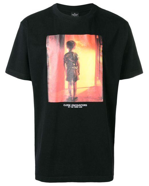 Marcelo Burlon T-shirt Met Foto Print in het Black voor heren