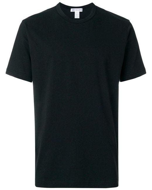 Comme des Garçons | Black Crew Neck T-shirt for Men | Lyst