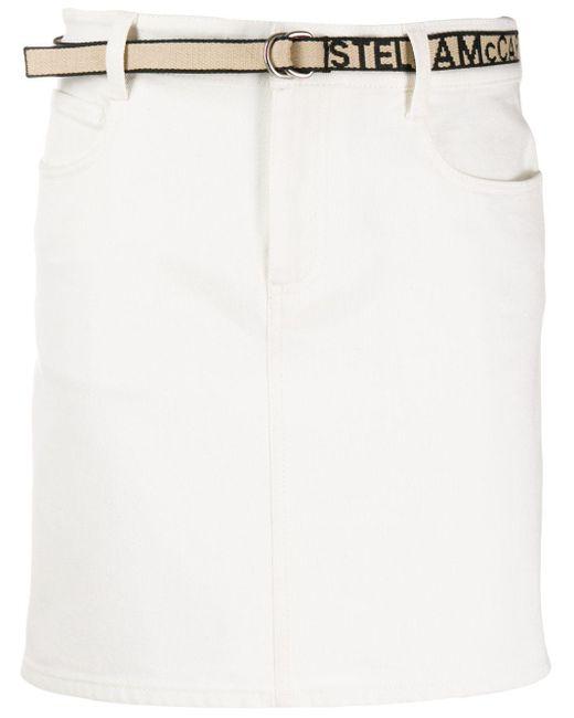 Stella McCartney デニムスカート White