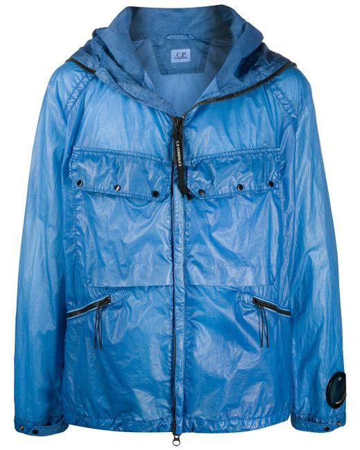 メンズ C P Company Riviera ジップジャケット Blue