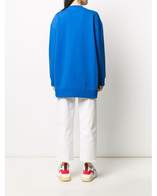 Stella McCartney ロゴ スウェットシャツ Blue
