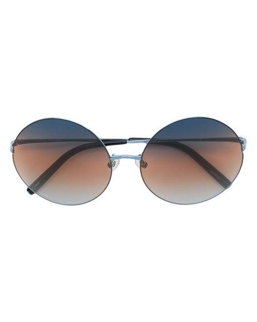 Matthew Williamson - Metallic Round Frame Sunglasses - Lyst