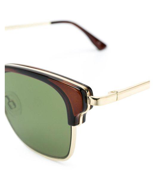 Le Specs Brown Katoch Sunglasses
