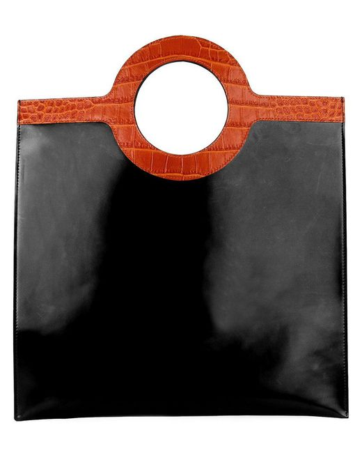 Givenchy - Black Contrast-handle Flat Tote - Lyst