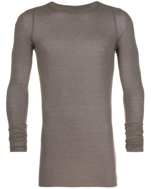 メンズ Rick Owens リブ Tシャツ Multicolor