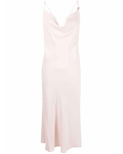 Blumarine バックレス ドレス Pink