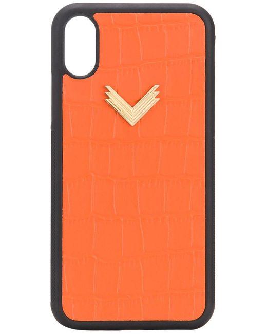 Manokhi Iphone X/xs ケース Orange
