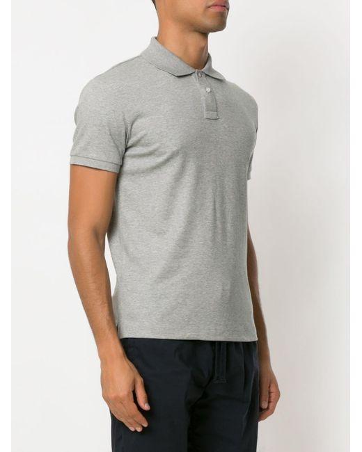 Osklen Poloshirt mit Logo in Gray für Herren