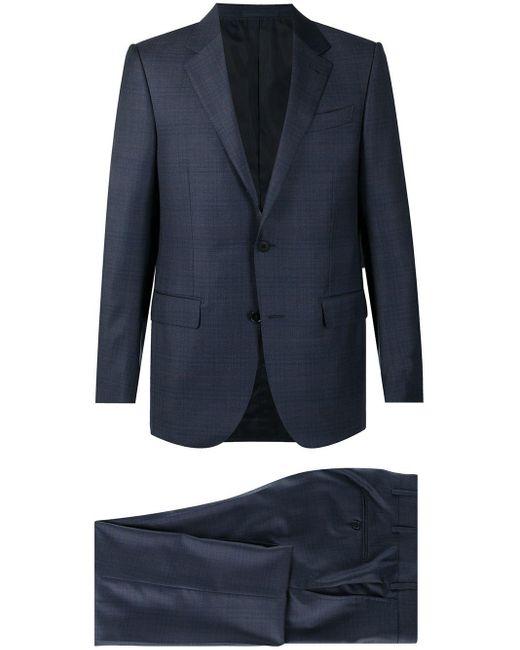 メンズ Z Zegna テーラード シングルジャケット Blue