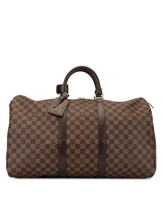 Louis Vuitton キーポル 50 ボストンバッグ Brown