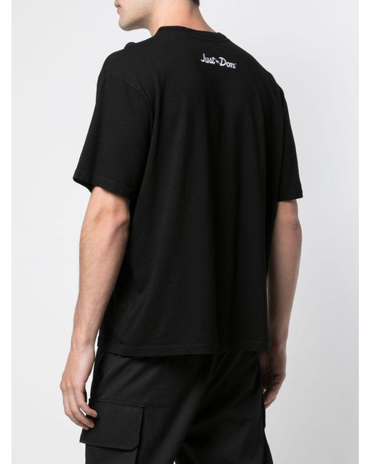 メンズ Just Don Miami プリント Tシャツ Black