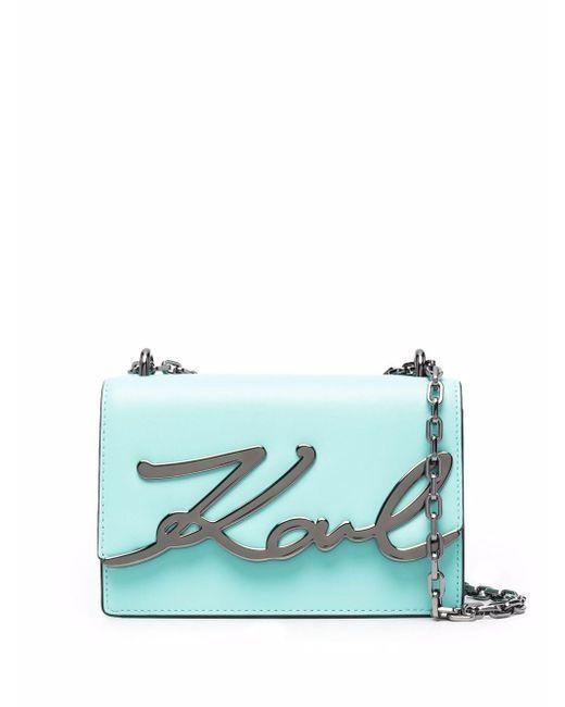 Karl Lagerfeld K/signature ショルダーバッグ S Blue