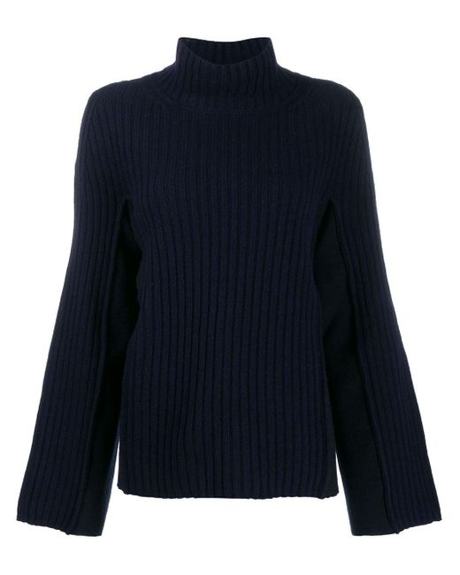 Maison Margiela ハイネック セーター Blue