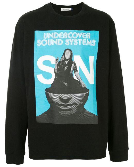 メンズ Undercover Sound System スウェットシャツ Black