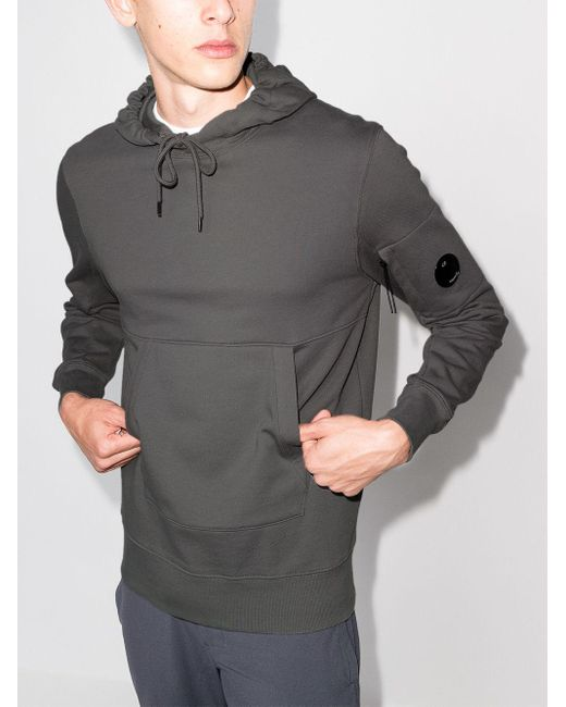 C P Company Sweatshirt mit Ärmeltasche in Gray für Herren