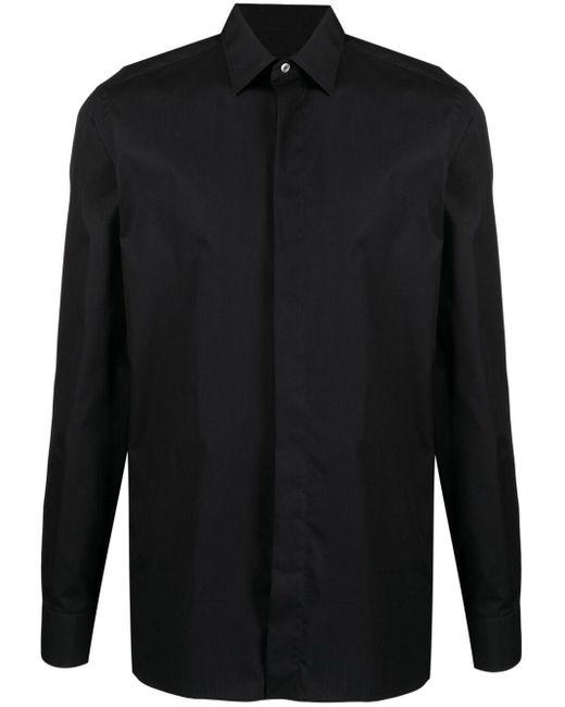 メンズ Ermenegildo Zegna ボタン シャツ Black