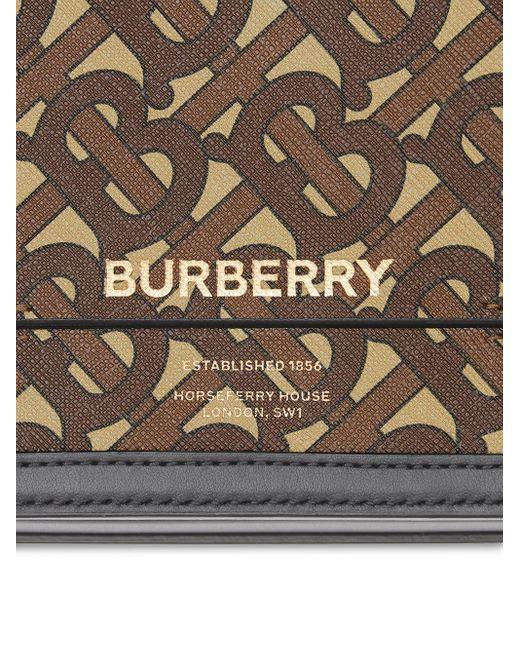 Маленькая Сумка Через Плечо Grace С Монограммой Burberry, цвет: Brown