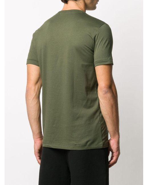 メンズ Calvin Klein ロゴ Tシャツ Green