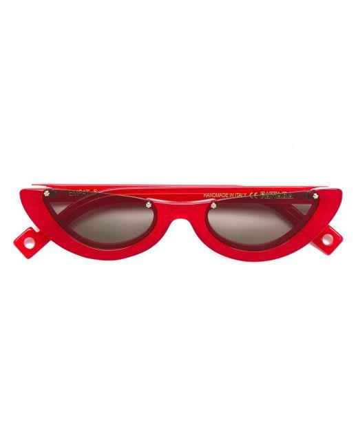 Gafas de sol Empat 4 Pawaka de color Red