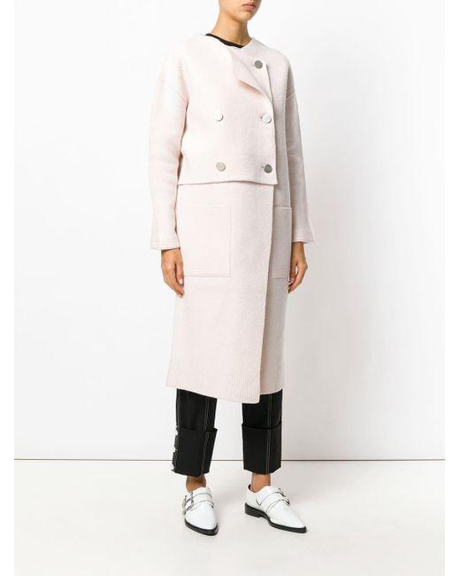 Proenza Schouler オーバーサイズ ダブルコート Pink
