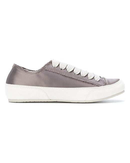 Pedro Garcia | Gray Metallic Sneakers | Lyst