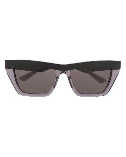 Солнцезащитные Очки В Оправе 'кошачий Глаз' Bottega Veneta, цвет: Black